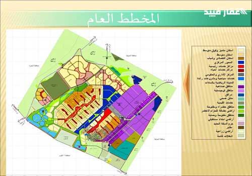 خريطة مدينة السادات