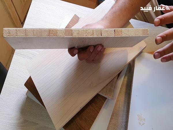 انواع الخشب الكونتر