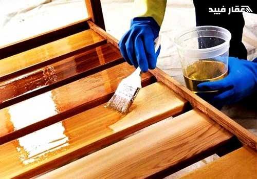 طريقة دهان الخشب بالسيلر